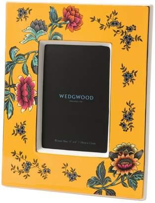 Wedgwood Wonderlust Yellow Tonquin Photo Frame