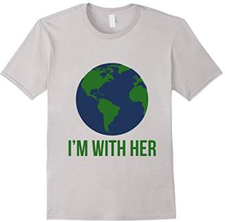 DAY Birger et Mikkelsen I'm with her earth tee shirt I'm with science