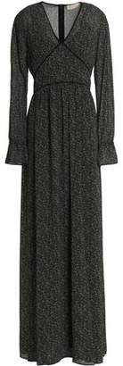 MICHAEL Michael Kors Printed Crepe De Chine Maxi Dress