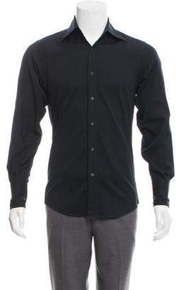 Gucci Horsebit Jacquard Button-Up Shirt
