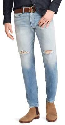 Polo Ralph Lauren Eldridge Distressed Skinny Jeans