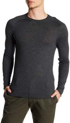 Parke & Ronen Elbow Patch Long Sleeve Sweater