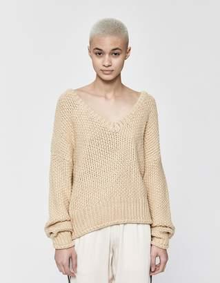 Need Halle Long Sleeve V-Neck Sweater