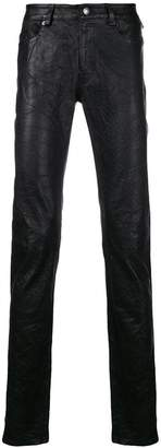 Zadig & Voltaire Zadig&Voltaire Fashion Show crinkle effect leather trousers
