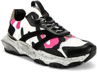 Valentino Low Top Sneaker in Multi & Pink | FWRD