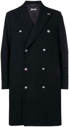 Just Cavalli double-breasted fitted coat