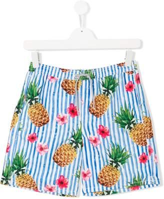 MC2 Saint Barth Kids Teen printed swim shorts
