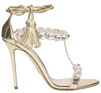Paula Cademartori Diana Crystals Sandals