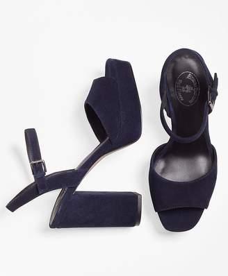 Suede Platform Heels $178 thestylecure.com