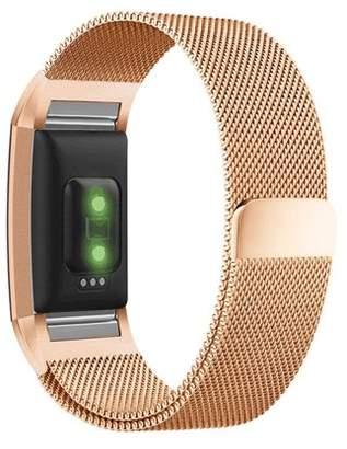 Fitbit Amerteer Milanese Loop Stainless Steel Metal Bracelet Strap Band For Charge 2 HR