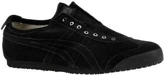 Onitsuka Tiger by Asics Mexico 66 Slip On Unisex Sneaker 9.5 D(M) US Black-Black