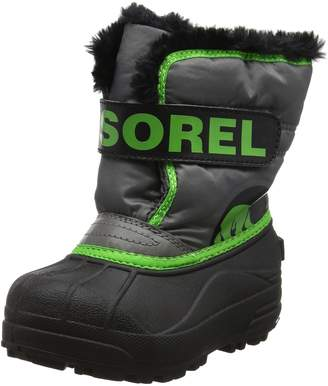 Sorel Infants' Snow Commander Pull On Winter Boot Quarry/Grn 9 M US
