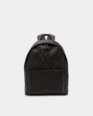 Ted Baker FLOOROW Embossed leather backpack