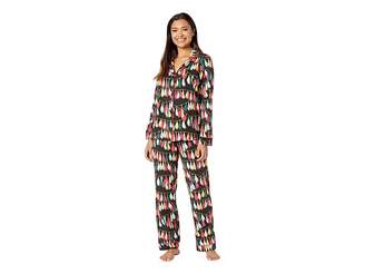 BedHead Long Sleeve Classic Notch Collar Pajama Set Women's Pajama Sets