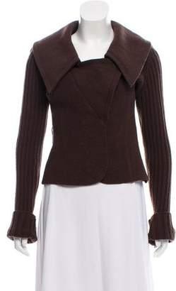 Valentino Wool Knit Blazer