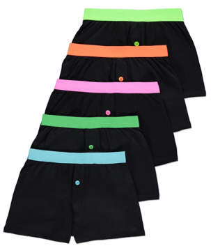 George Assorted Boxers 5 Pack