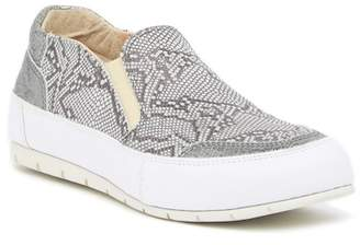 Manas Design Snake Print Slip-On Sneaker