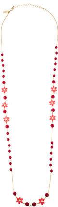 Kate SpadeKate Spade New York Floral Crystal Bead Strand Necklace