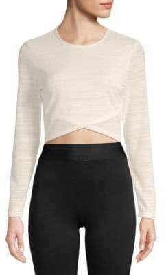 Plenty by Tracy Reese Long-Sleeve Cropped Top