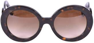 Prada Brown Plastic Sunglasses