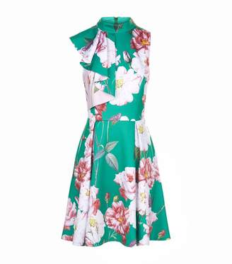 Ted Baker Ruffle Neck Skater Dress