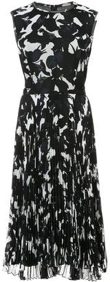 Jason Wu printed pleated dress