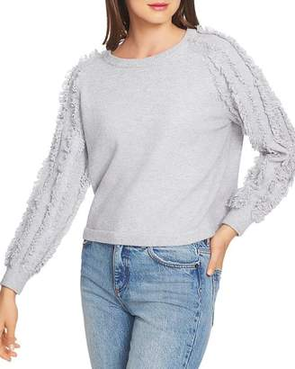 1 STATE 1.STATE Fringe-Sleeve Sweater