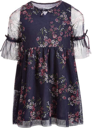 Epic Threads Toddler Girls Mesh Dress, Created for Macy's