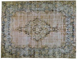 """One Kings Lane Vintage Persian Kerman Rug - 10' x 13'3"""" - Orientalist Home"""