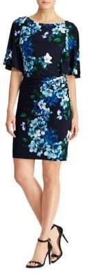 Lauren Ralph Lauren Floral Jersey Day Dress