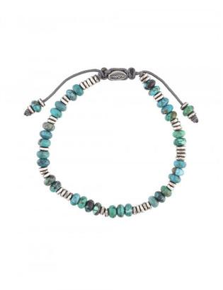 M. Cohen 'Templar Disc & Stacked Gems' bracelet $300 thestylecure.com