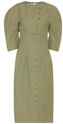 Kathey Cotton-blend Shirt Dress