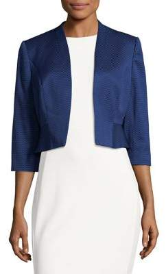 Phase Eight Ruffled Open-Front Blazer