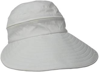 Physician Endorsed Women's Naples Cotton Packable Cap & Visor Sun Hat