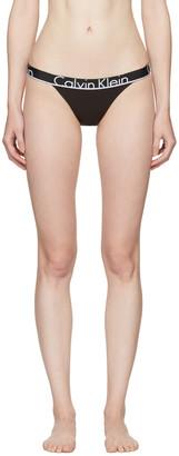 Calvin Klein Underwear Black Tanga Briefs $20 thestylecure.com