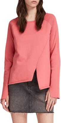 AllSaints Pelo Asymmetrical Sweatshirt
