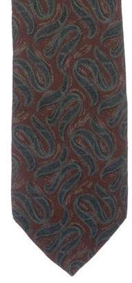 Calvin Klein Collection Jacquard Silk Tie