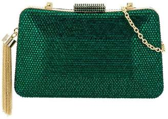 Serpui beaded clutch bag
