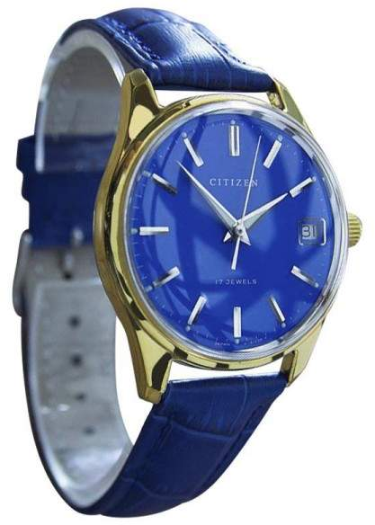 CitizenCitizen Parawater Stainless Steel & Gold Plated Manual Vintage Mens Watch Year: 1960