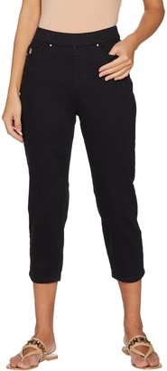 Belle By Kim Gravel Belle by Kim Gravel Stretch Twill Cropped Pants