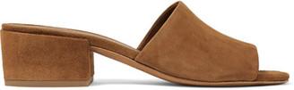 Vince - Rachelle 2 Suede Sandals - Tan $275 thestylecure.com
