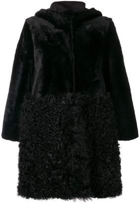 Drome zipped shearling coat