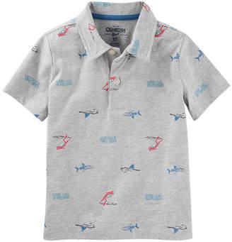 Osh Kosh Oshkosh Short Sleeve Knit Polo Shirt - Preschool Boys