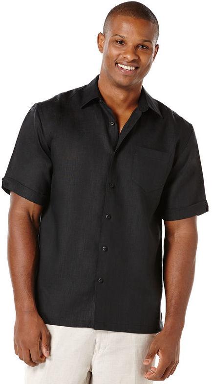 Mens Black Linen Shirt - ShopStyle Australia