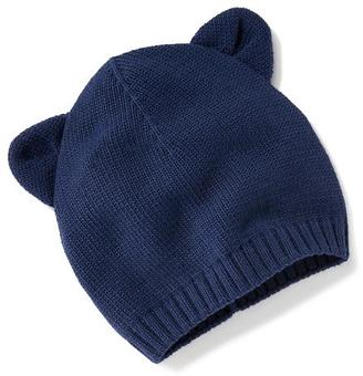 Sweater-Knit Animal-Ear Beanie for Baby $9.94 thestylecure.com