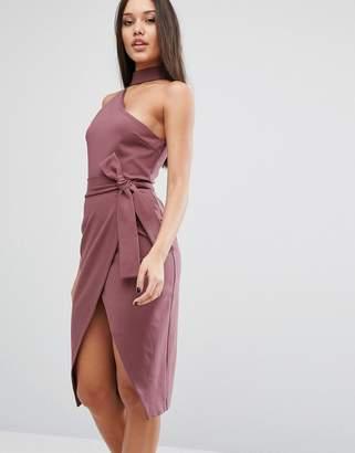 Lavish Alice Pencil Dress With Choker Detail $85 thestylecure.com