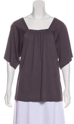 TSE Short Sleeve Square Neck Top