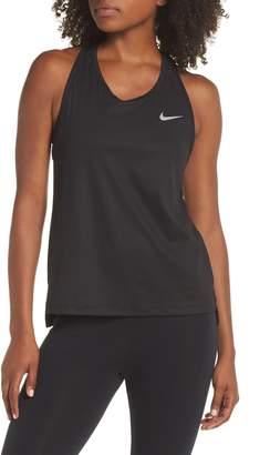 Nike Miler Ribbed Tank
