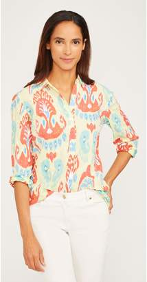 J.Mclaughlin Lois Shirt in Paisley Ikat