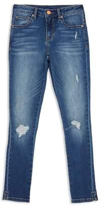 Habitual Girls' Tenley Distressed Ankle Skinny Jeans - Little Kid